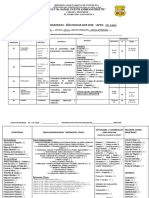 Planificacion 1er Lapso Lengua Extranjera 8vo ABCD 2019-2020