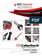Caloritech Immersion Heaters