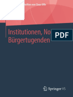 Institutionen, Normen, Bürgertugenden