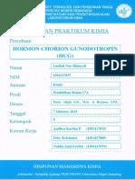Biokimia HCG Lutfiah Nur Hidayati 4301417037
