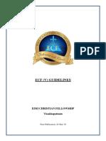 ECF Guidelines Ver 1.0 23 Mar 19