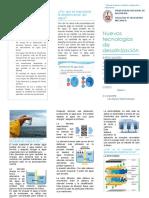 desalinizacion quimica