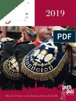 Programa Semana Santa de Sevilla 2019