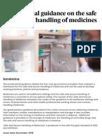 Safe and Secure Handling of Medicines - Framework (Obtaining Medicine)