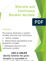 Discrete and Continuous Random Variable.pptx