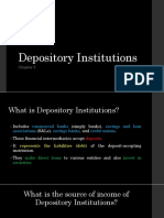 Depository Institutions FM