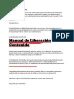 Manual de Liberación Iglesia Cristiana