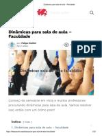 Dinâmicas para sala de aula - Faculdade.pdf