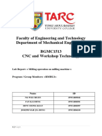 milling machine report