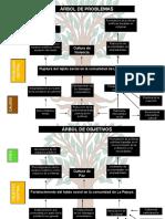 PDF Arbol de Problemas, Objetivos y Acciones