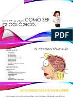 La Mujer Como Ser Psicológico