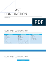 Contrast Conjunction