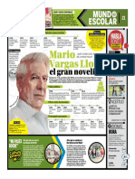 Mario Vargas Llosa El Gran Novelista