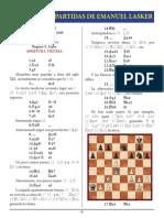 2- Lasker vs. F. Lipke