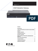 SG-4260 Substation Gateway