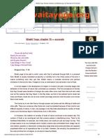 Bhakti Yoga_ Advaita Vedanta and Bhakti Yoga, Its Importance for Advaita