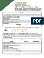 Evaluacion Huye Del Enemigo Revista