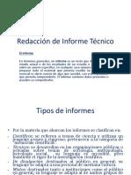 Redacción de Informe Técnico Pp