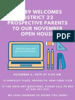 Open House December