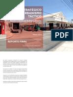 Plan Estrategico de Urbanismo Tactico Chile