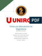Visita Aos Laboratórios de Engenharia ( Relatório)