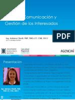 Taller de Comunicación y Gestión de los Interesados