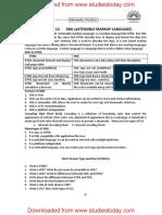 CBSE Class 12 Informatics Practices Computer XML Extensible Markup Language