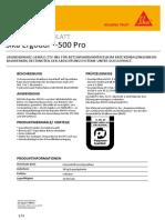 2310 Sika Ergodur 500 Pro
