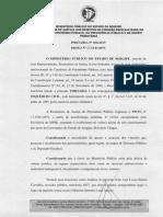MPE investiga suposta ilegalidade em proventos de Belivaldo