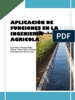 Aplicación de Funciones en La Ingenieria Agricola Imp