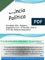 Ciência Política PTT Aula 01