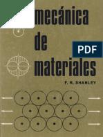 Mecánica de Materiales - F. R. Shanley