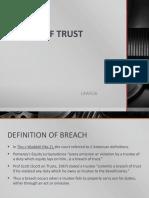 556 l6 Breach of Trust