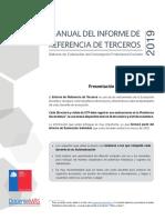Manual Informe de Referencia de Terceros 2019