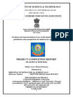 Project Completion Report Final