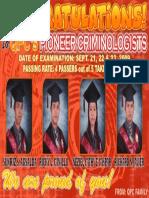 Criminology PIONEER