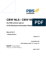 PBS CBW NLS Administrator Guide