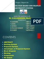 Theft detection based GSM Prepaid electricity system PPT.pptx