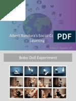 Albert Bandura's Social Cognitive Learning