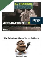 Paleo Diet Claims vs Evidence