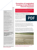 Prevención de de fisuración longitudinal en pavimentos de concreto con losas anchas