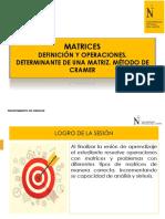 PPT 01 Matrices y Operaciones _2019-2