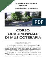 Ordinamento Corso MT. 2018-19
