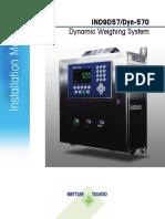 Installation Manual. IND9D57_Dyn-570 Dynamic Weighing System