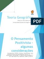 Aula 2- Positivismo e a geografia.ppt