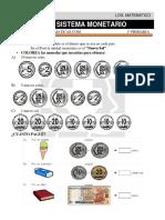21 Sistema Monetario Primero de Primaria