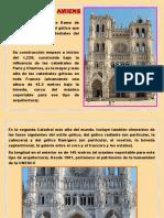 Catedral de Amiens Informe