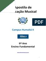Educação Musical - 6º Ano - Pedro II