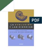 Scheinsohn Vivian - La Evolucion y Las Ciencias