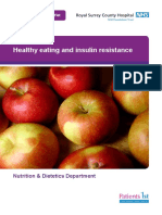 PIN201 Healthy Eating insulin Resistance w